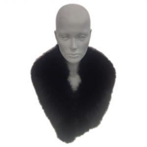 collo scialle volpe nera