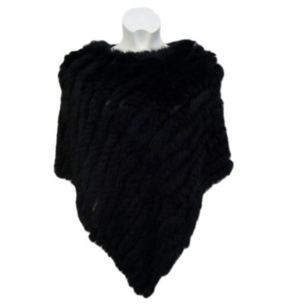 poncho nero